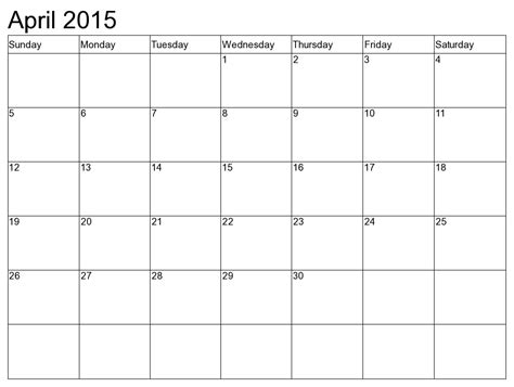 printable monthly calendar for december 2015 april 2015 calendar monthly events in the us 2018 2019