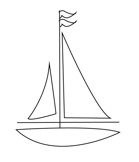 sailboat outline images terrific sailboat outline drawing images buscar con google