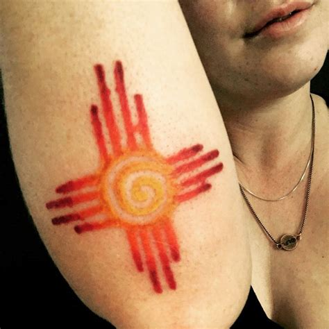 zia symbol tattoo 25 best ideas about mexico on flag of