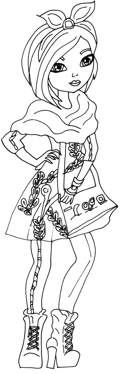 coloring pages ever after high raven queen ever after high coloring pages raven queen click here to