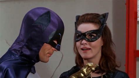 actress played catwoman original batman the original catwoman pays tribute her batman cnn