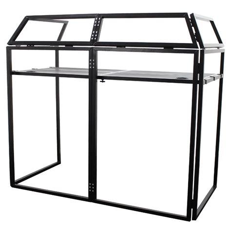 aluminium lightweight dj booth system mkii equinox aluminium lightweight dj booth system mkii at