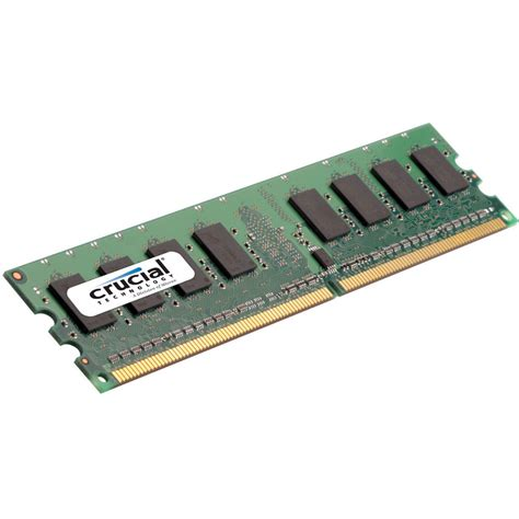 Ram Crucial 4gb crucial 4gb dimm memory for desktop ct51272ab667 b h photo