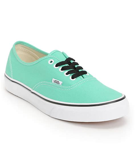 vans authentic mint true white skate shoes mens at