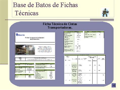 imagenes figurativas con ficha tecnica dise 241 o de un formato electr 243 nico para fichas t 233 cnicas