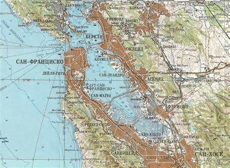 san francisco map rds soviet map of san francisco 1980 1000x733 mapporn