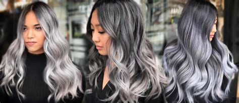 hairstyles with grey ombre 27 try grey ombre hair this season lovehairstyles com