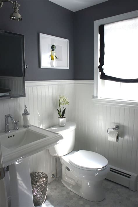 wallboard bathroom 10 rooms featuring beadboard paneling