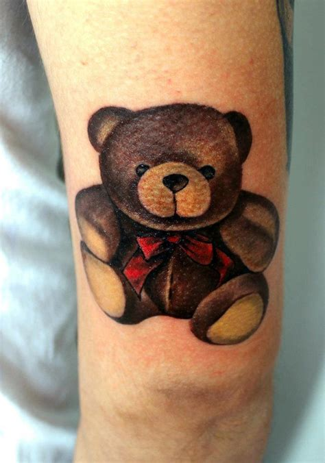 baby bear tattoo teddy tattoos designs ideas and meaning tattoos