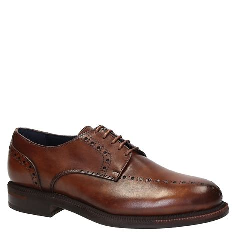 handmade s dress shoes in brown leather fruugo