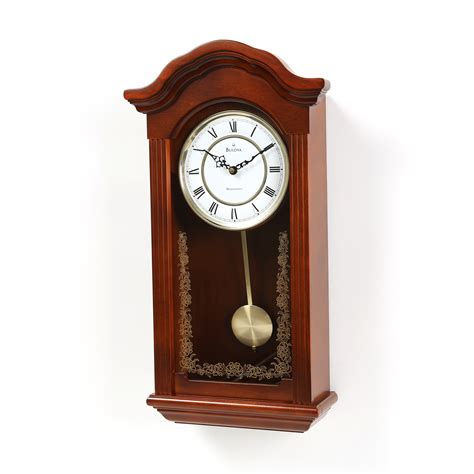 pendulum wall clock darby home co pendulum wall clock reviews wayfair