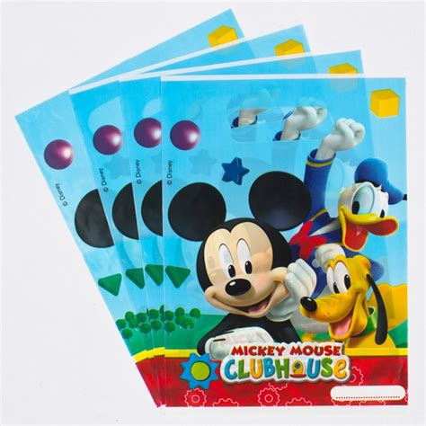 Disney Mickey Tissue Packs disney mickey mouse clubhouse bags pack of 6 only