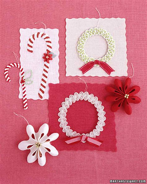 martha stewart easy christmas crafts rickrack crafts martha stewart