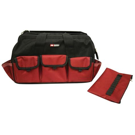 husky 18 in large bag with tool wall 80897n09 the