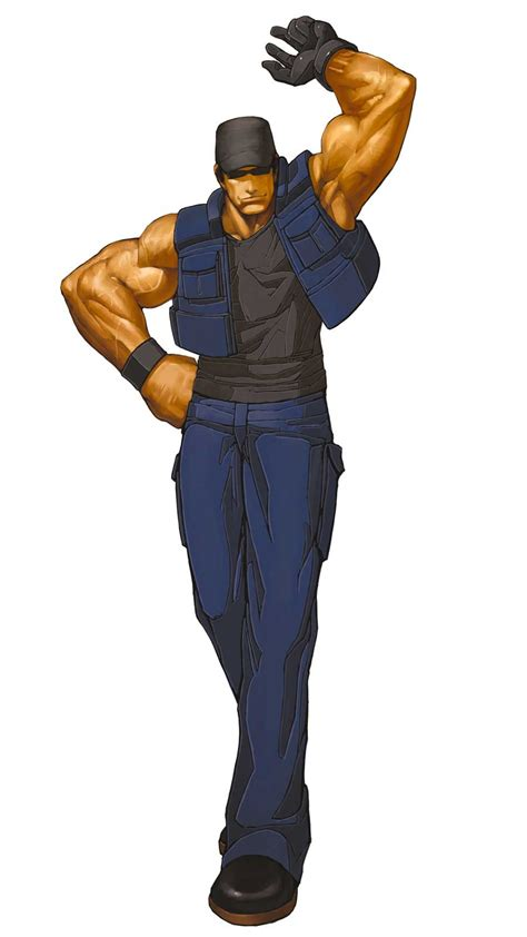 Vulcan Sleeper Hold by The King Of Fighters 2001 Characters Ikari Assassins