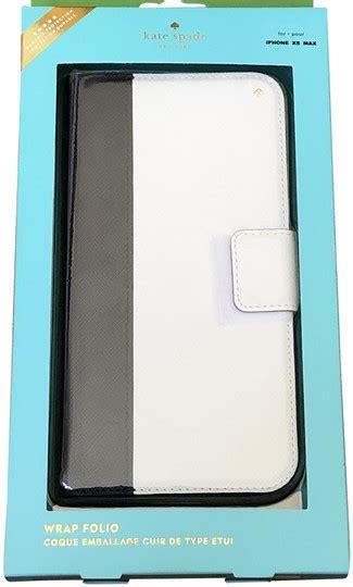 kate spade multicolor iphone xs max leather color block folio tech accessory tradesy