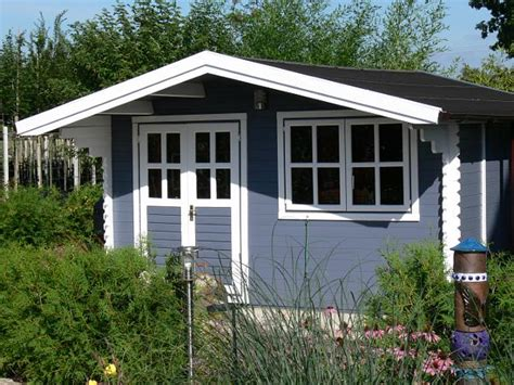 Gartenhaus Streichen Welche Farbe