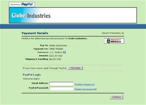 paypal payment page template paypal s custom payment pages an overview paypal