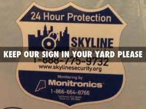 skyline security ge by