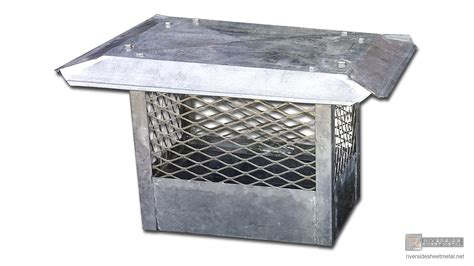 Fireplace Roof Caps by Chimney Cap With Standard Flat Roof Ch011