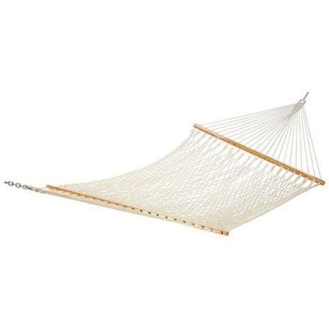 13 ft cotton rope hammock pc 13rpcnp the home depot