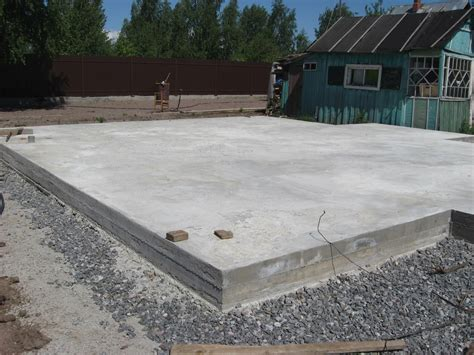 How to build a slab foundation or repair, the pros and cons