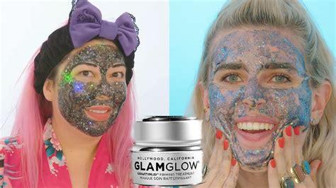 Masker Glamglow luxury vs diy glamglow glitter mask hellogiggles