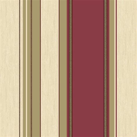 gold wallpaper the range crown synergy striped wallpaper rich red cream gold
