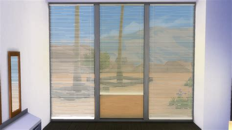 mod curtains mod the sims horizontal curtain blinds