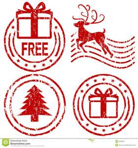 christmas rubber stamps stock photography image 6203072