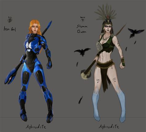 Aphrodite Skin Idea By Crellan00 On Deviantart