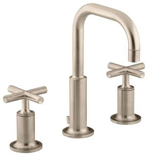 Kohler Purist Widespread Lavatory Faucet by Kohler K 14406 3 Purist Widespread Bathroom Faucet