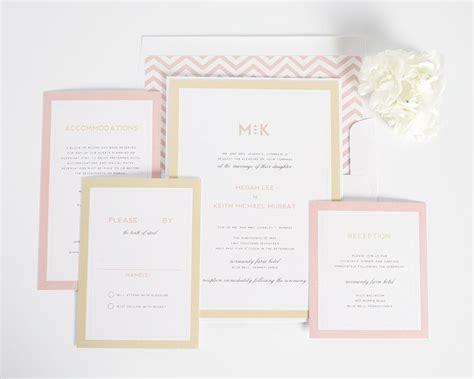 Blush Wedding Invitations