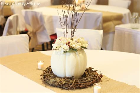 diy fall wedding reception decorations diy rustic chic fall wedding reveal of family
