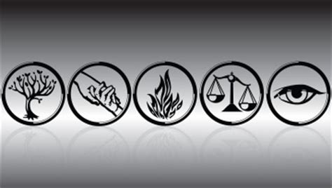 choosing tattoo quiz from left to right name the factions that belong to the