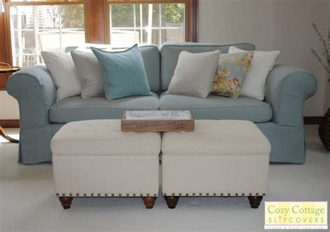 cottage style sofa slipcovers cozy cottage slipcovers fresh new look with slipcovers