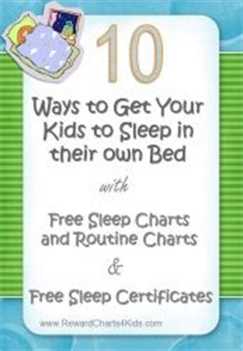how to get toddler to sleep in own bed 25 best ideas about bedtime routine chart on pinterest
