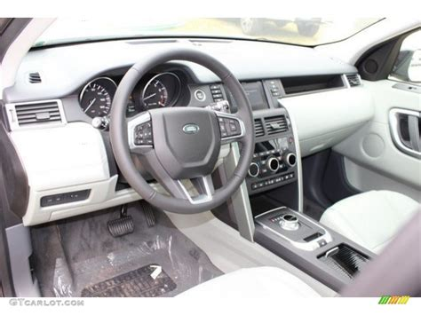 land rover discovery 2016 interior glacier interior 2016 land rover discovery sport hse