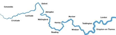 river thames towpath map facts about the river thames useful information visit