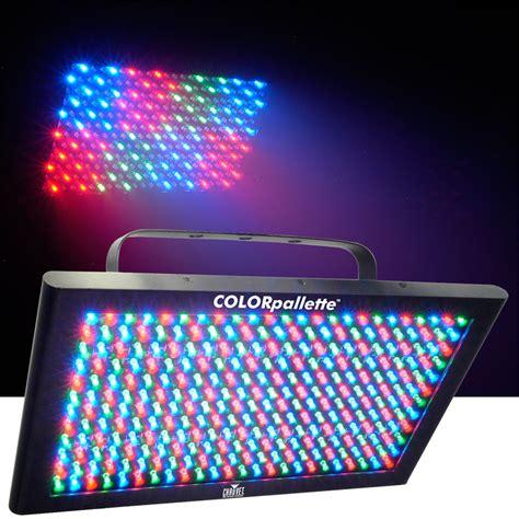 chauvet colorpalette rgb wash effect led light pssl