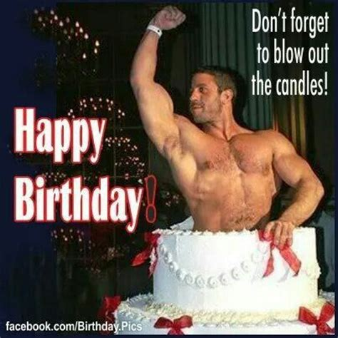 hot chick jumping out of cake man coming out of cake greeting happy birthday greetings