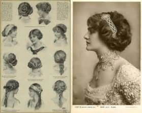 how to style hair for 1900 edwardian inspired wedding hairstyles plaits soft curls