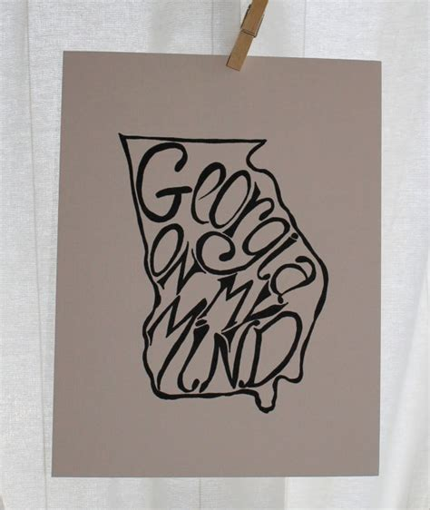 uga tattoos designs on my mind white background 8x10 illustrated