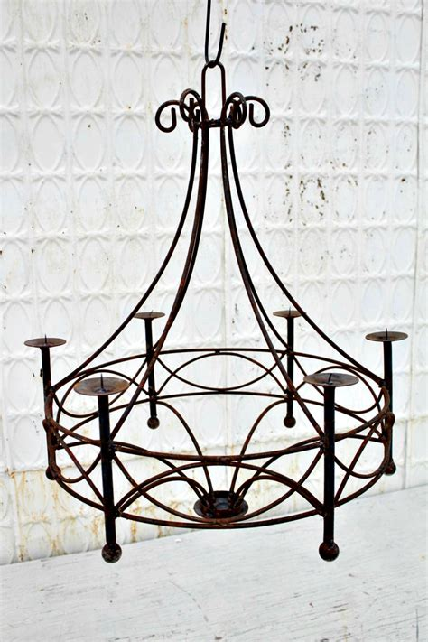 Wrought Iron Candelabra Chandelier Wrought Iron Chandelier Candle Lighting Candelabra