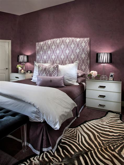 purple bed room photo page hgtv