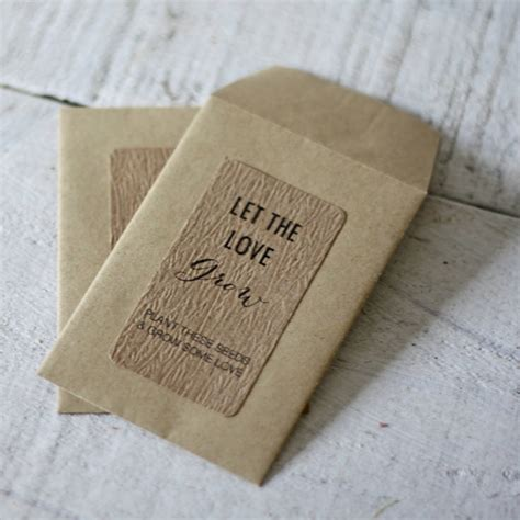 Wedding Favors Seeds by Wedding Favour Envelope For Seeds Or By The Wedding