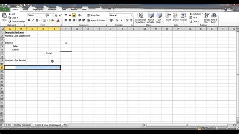 create  bookkeeping spreadsheet  microsoft