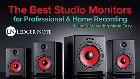 best bedroom studio monitors the best studio monitors speakers for home pro audio
