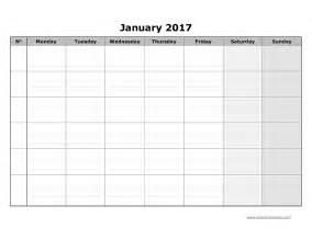 Schedule Grid Template by Blank Calendar Grid Template Calendar Template 2016