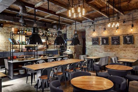 Bottega Wine Amp Tapas Restaurant By Kley Design Kiev Ceiling Design For Restaurants Dwg